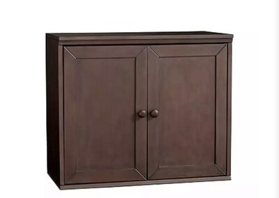 Pottery Barn Kids Cameron Cabinet W/ Doors (Chocolate)