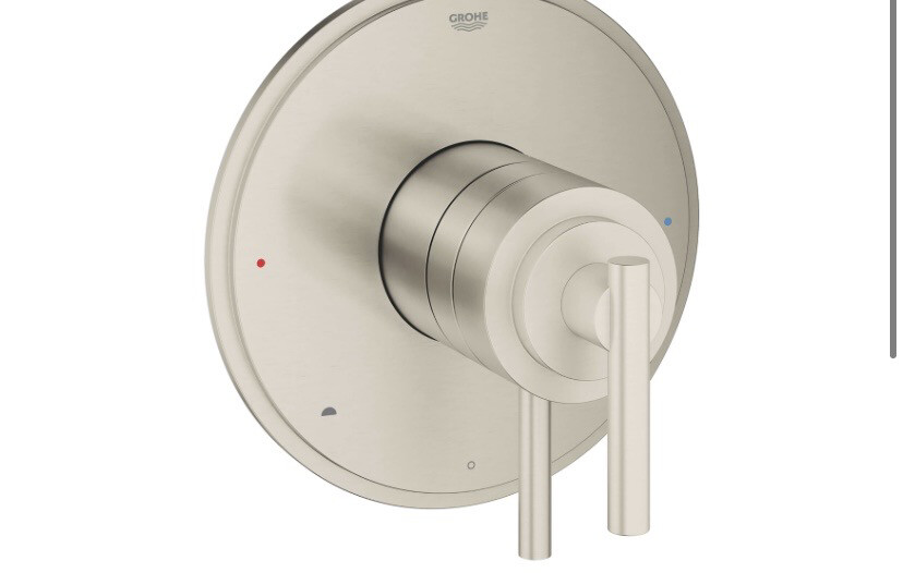 Grohe flex  Timeless Dual Function Pressure Balance Trim With Control Module