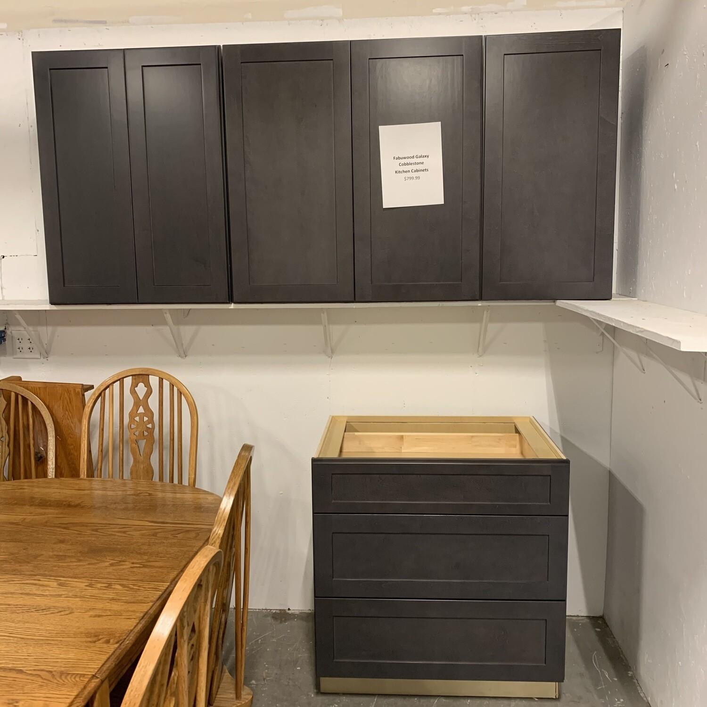 Fabuwood Galaxy Cobblestone Kitchen Cabinets