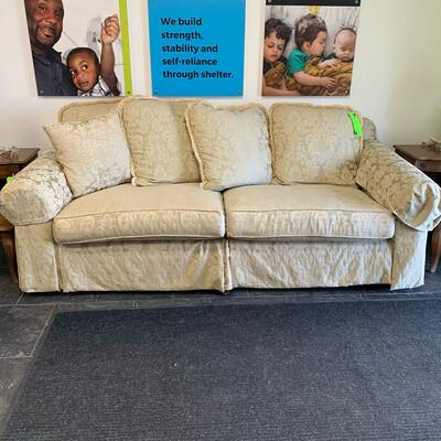 Ethan Allen Cream Couch