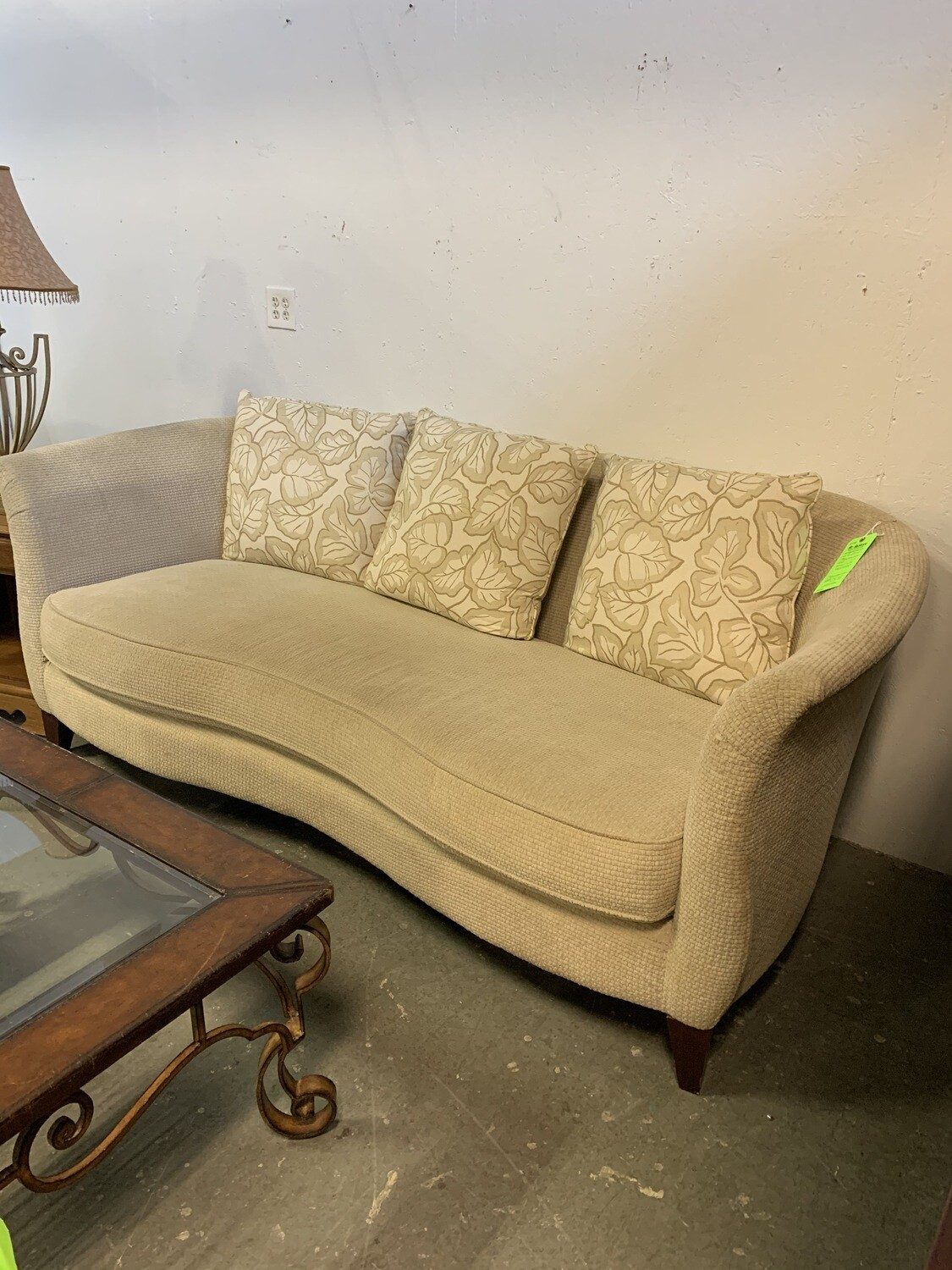 Klaussner Cream Couch