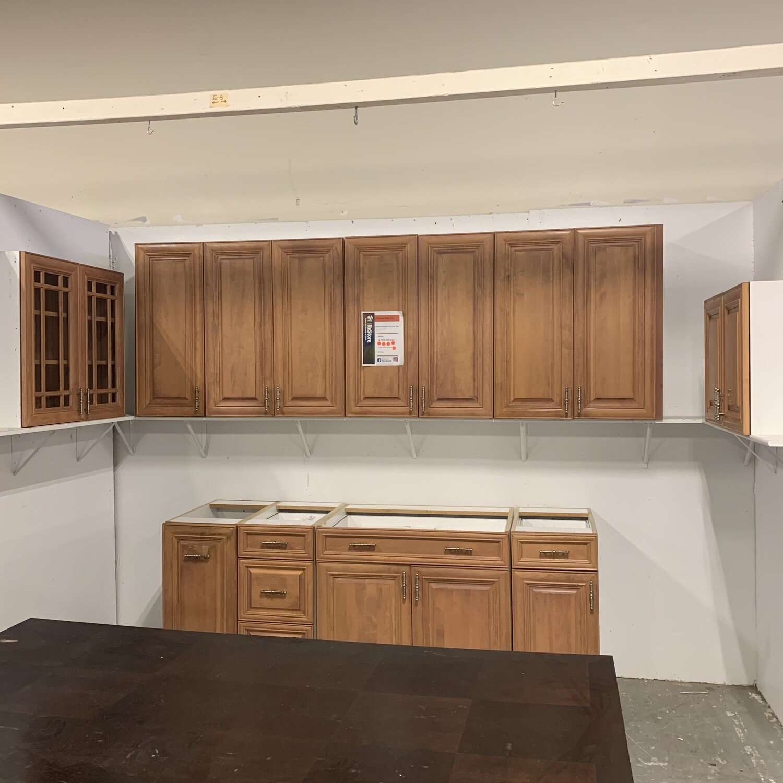 Natural Maple Cabinet Set #2