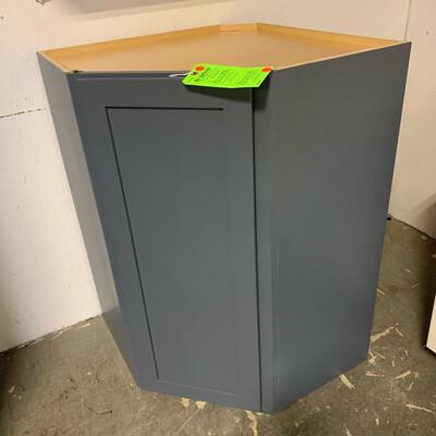 """27"""" x 27"""" E-2 Reach Corner Cabinet Gray"""