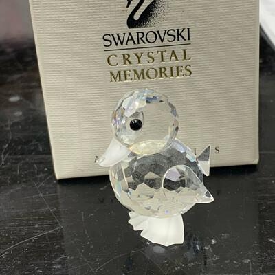 Swarovski Crystal Standing Duck