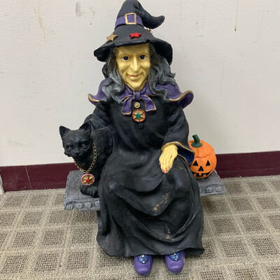 Halloween Witch Lawn Ornament
