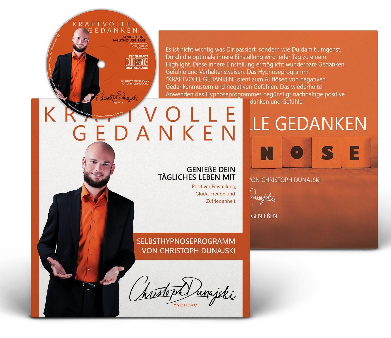 Selbsthypnoseprogramm Kraftvolle Gedanken - Audio CD