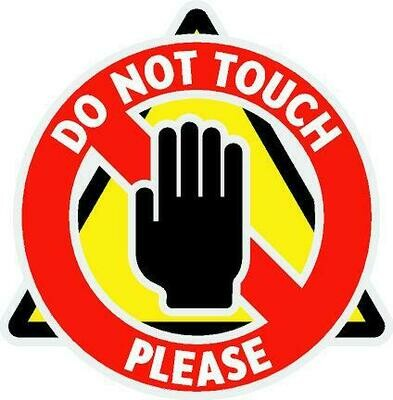 Decals - Do Not Touch Graphic