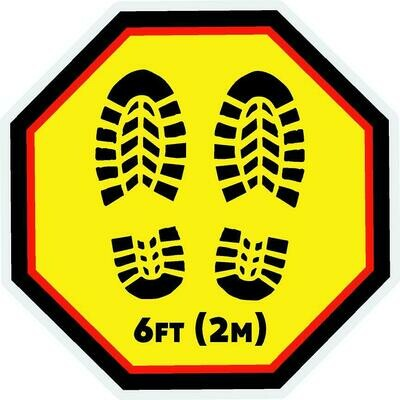 Floor Decals - Standing Formation Floor Graphic - 1