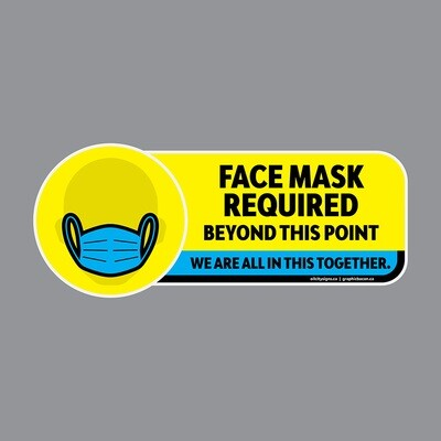 Decals - Face Mask Required