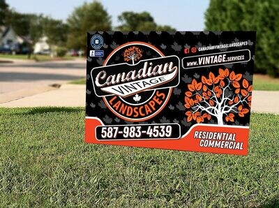 Lawn Signs - Set of 10