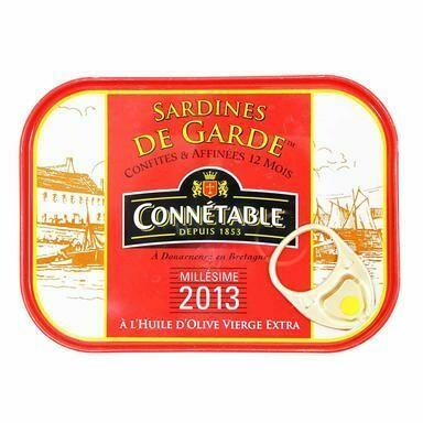 Connétable Sardine in Extra Olive Oil