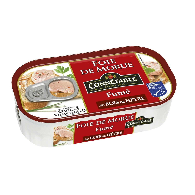Connétable Smoked Cod Liver