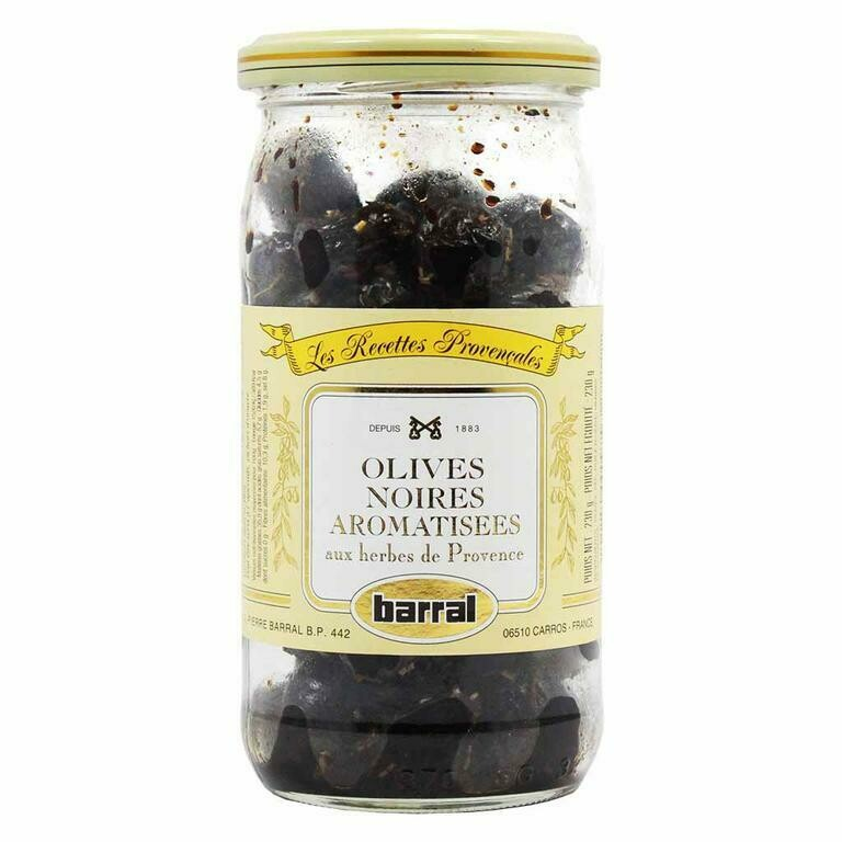 Barral - Black Olives with Provence Herbs