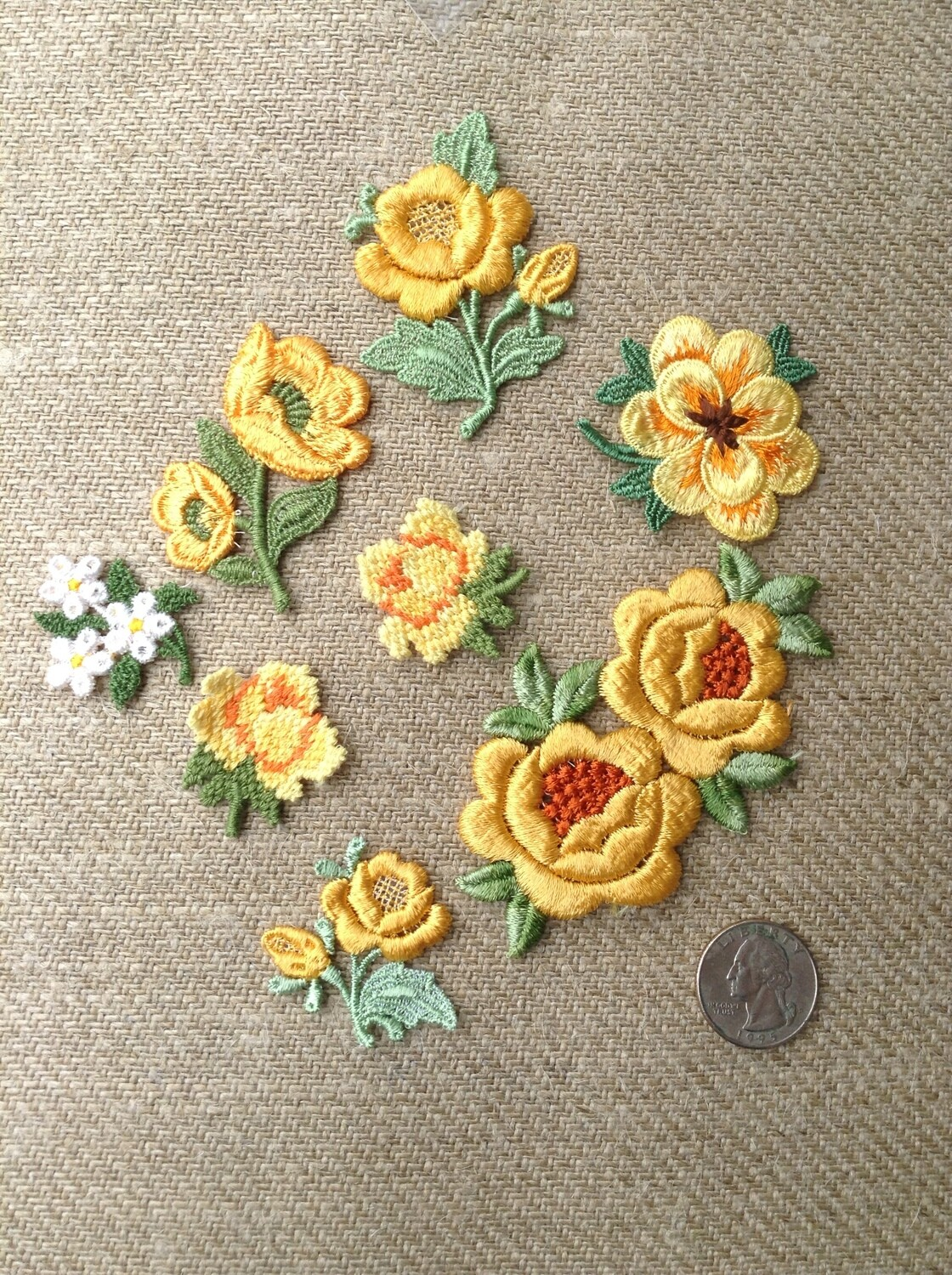 Patches yellow