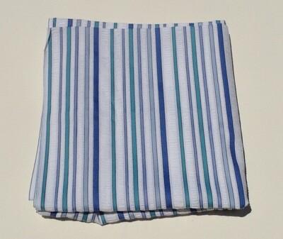 Fabric: Blue & White Seersucker
