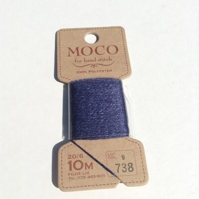 Thread: Fujix MOCO 100% polyester / Blue
