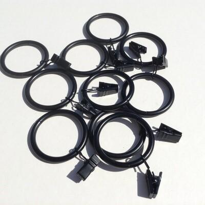 Metal Rings w/Clips - 2