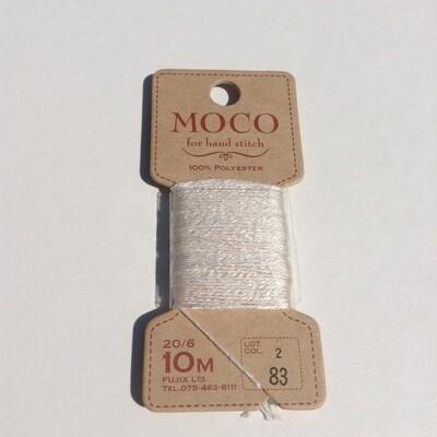 Thread: Fujix MOCO 100% polyester / White