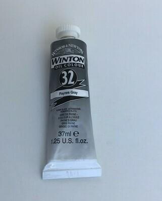 Oil Paint: Winsor & Newton / Paynes Gray