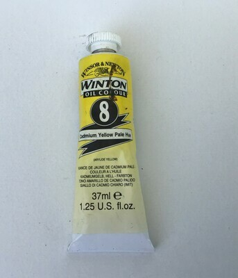 Oil Paint: Winsor & Newton / Cadmium Yellow Pale Hue
