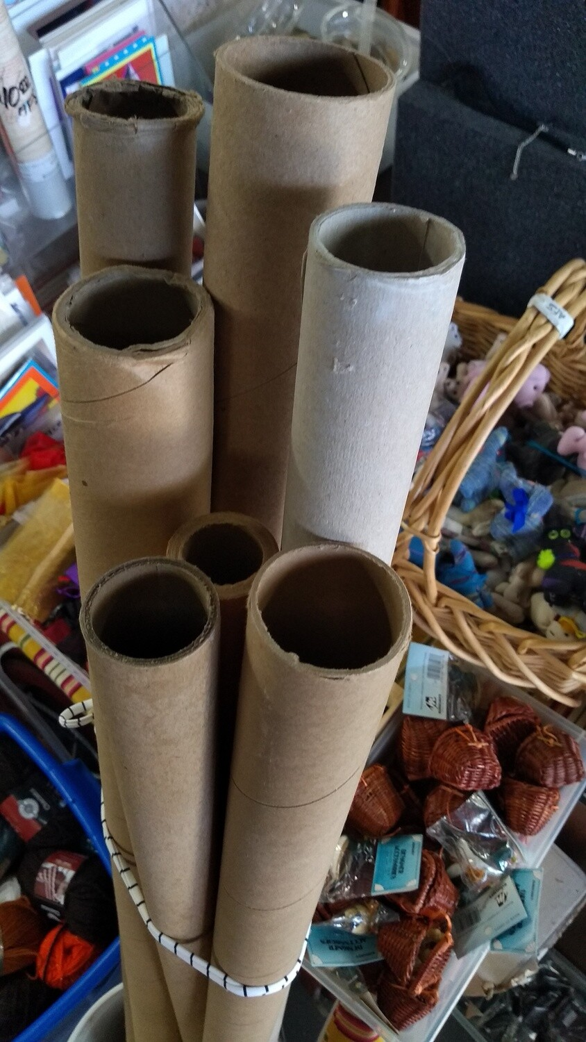 Cardboard Tubes (tall size)
