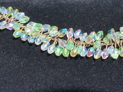 Bracelet: Iridescent Beads