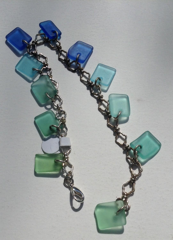 Bracelet: Ocean Colors Glass