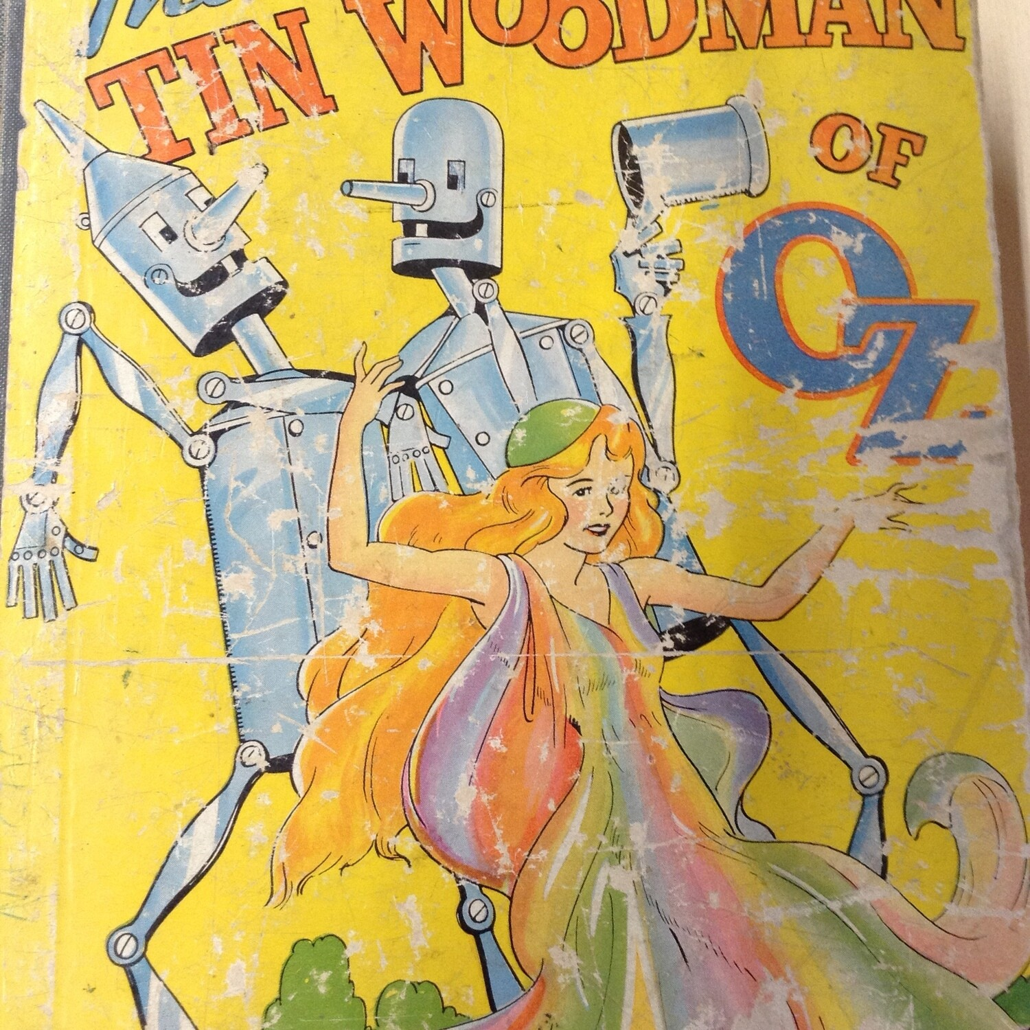 Book: The Tin Woodman of Oz, 1940.