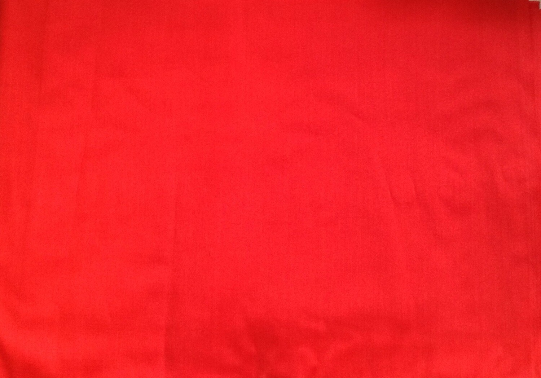 "Fabric: Tomato Red (18"" x 44"") / Cotton"