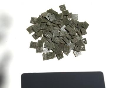 Mosaic Tiles - Olive (100 pieces)