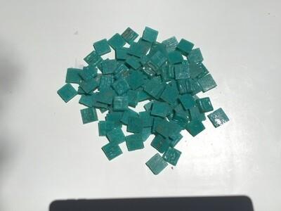 Mosaic Tiles - Aqua (100 pieces)