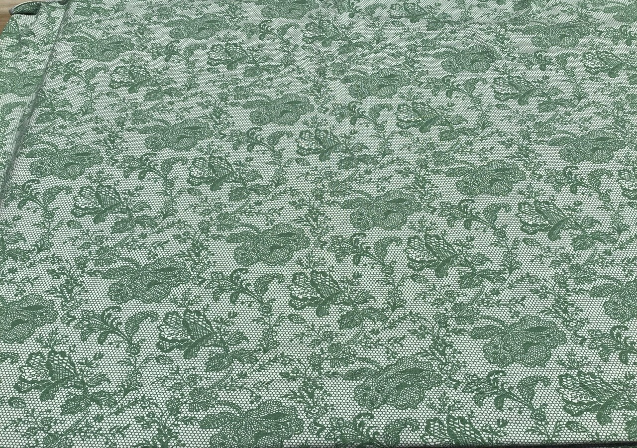 Fabric: Jersey / Lacy Green