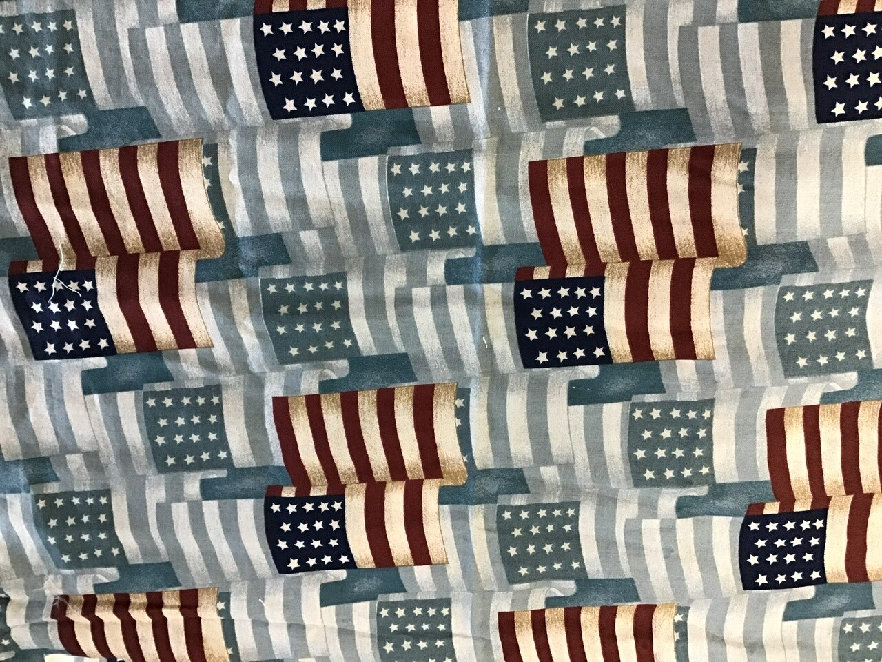 Fabric: Flags / Cotton (small)
