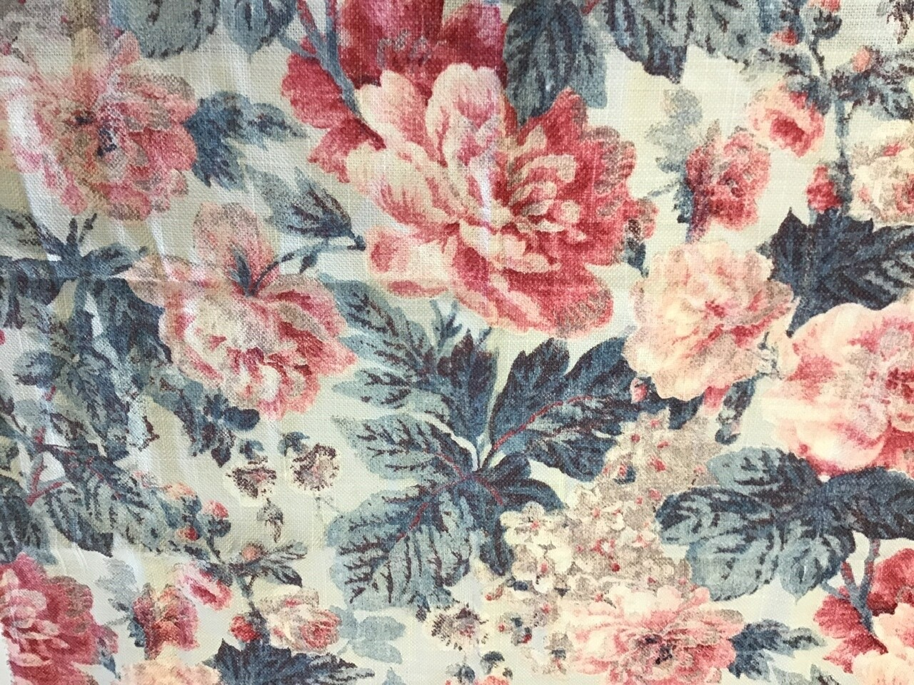 Fabric: Cottage Flowers / Linen