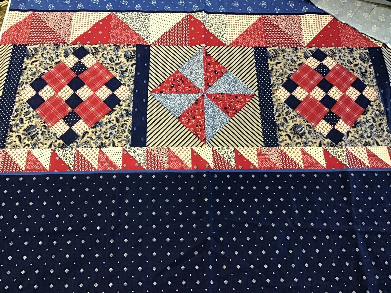 Fabric: Patchwork Print / Cotton (small)