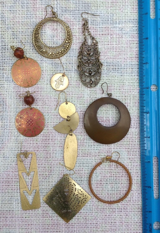 Earring Collection #1 Goldtonetone