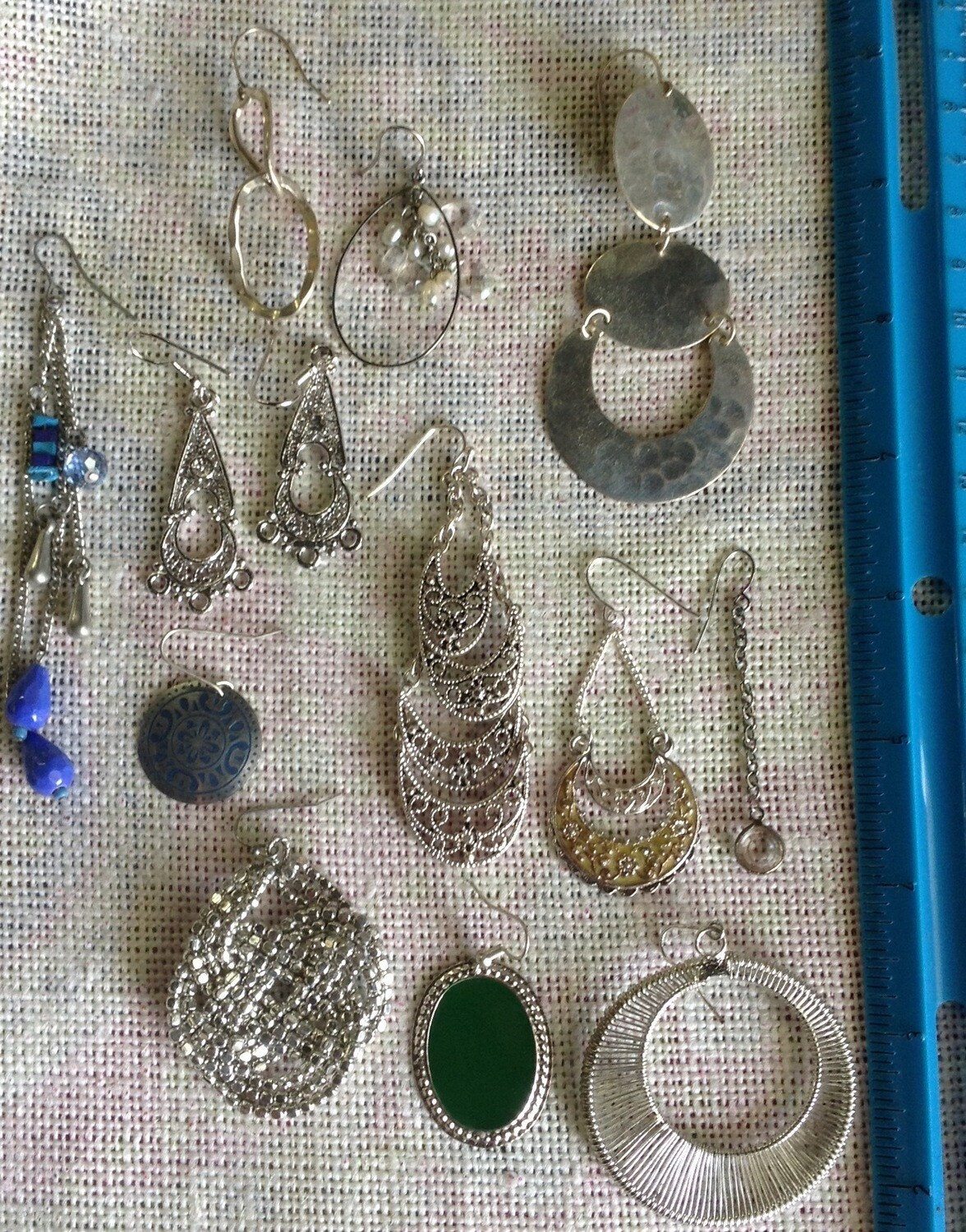 Earring Collection #3 Silvertone