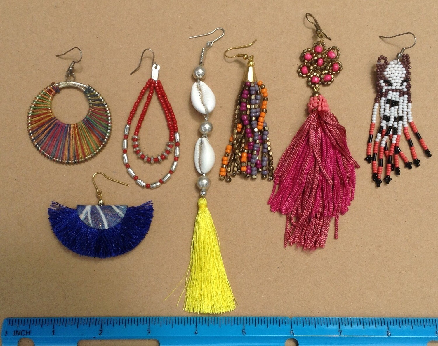 Earring Collection: Color w/ Blue Bag