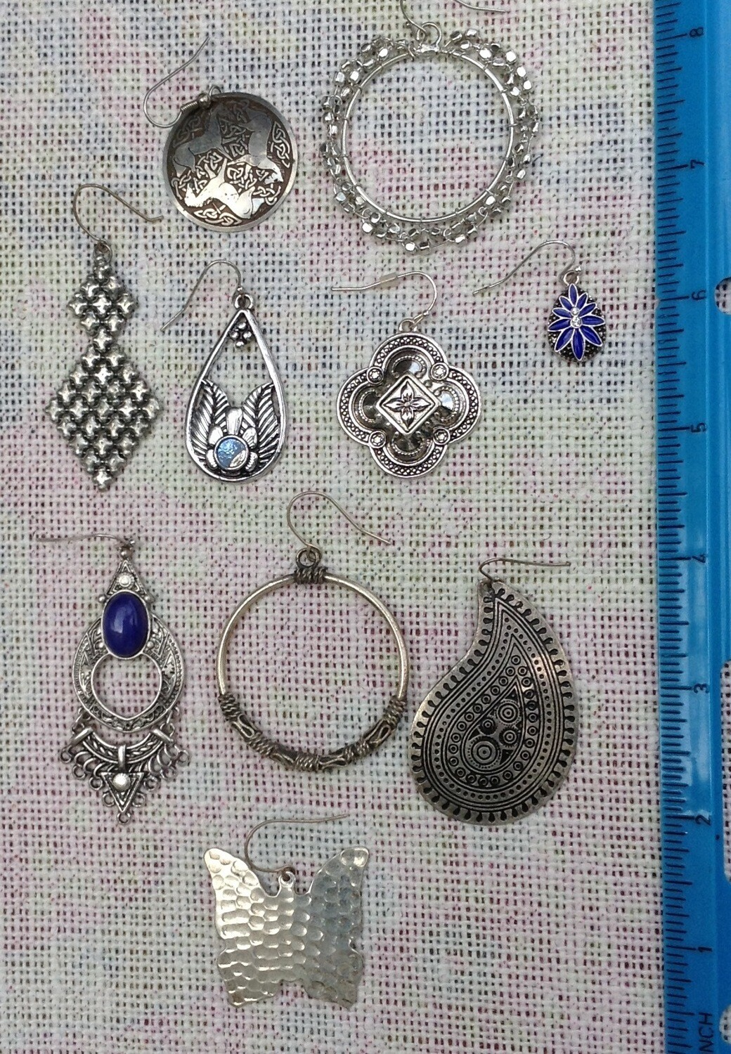 Earring Collection # 1 Silvertone