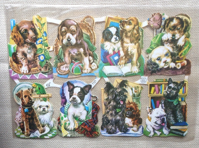 Paper Reliefs / Vintage Doggies
