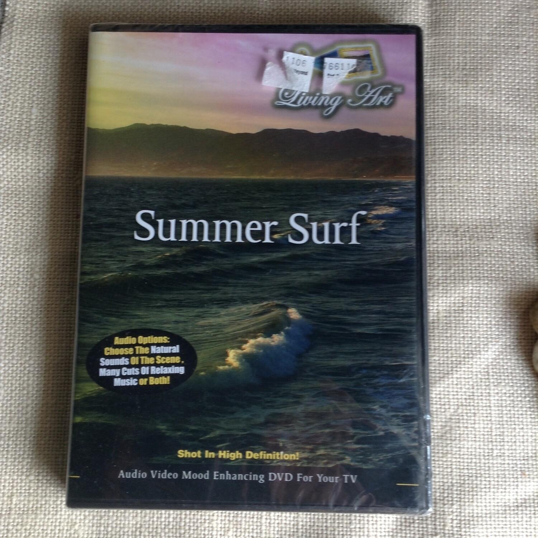 "Ambient Ocean DVD / New! ""Summer Surf"""