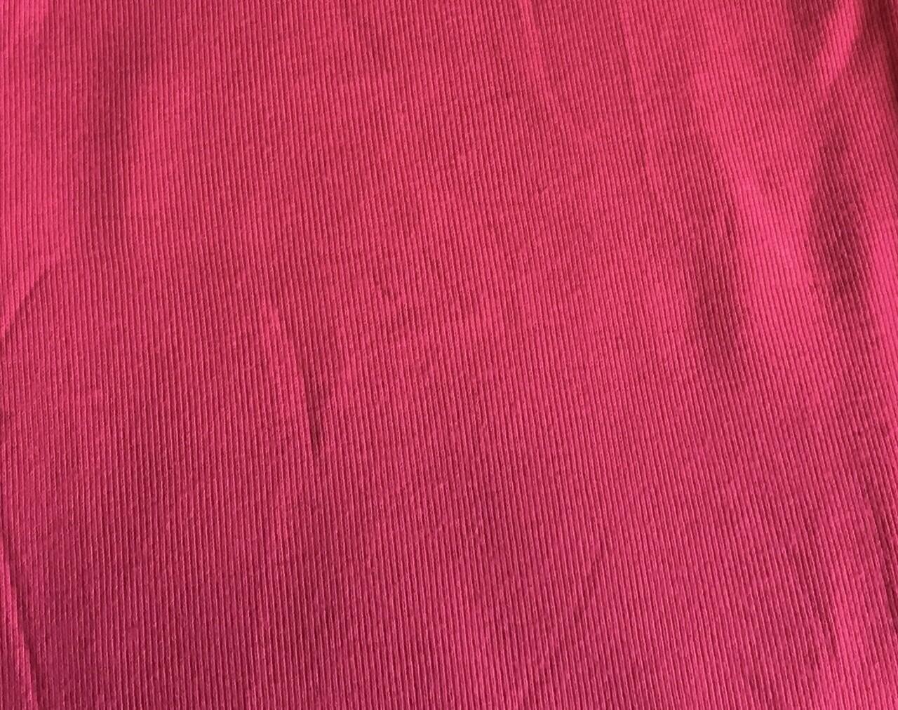Fabric: Ribbed T-Shirt Tube! / Fuchsia