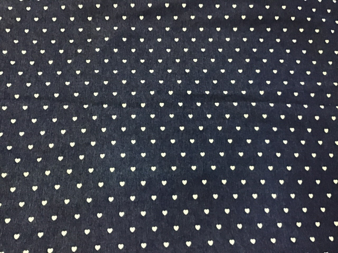 Fabric: Denim Baby Hearts