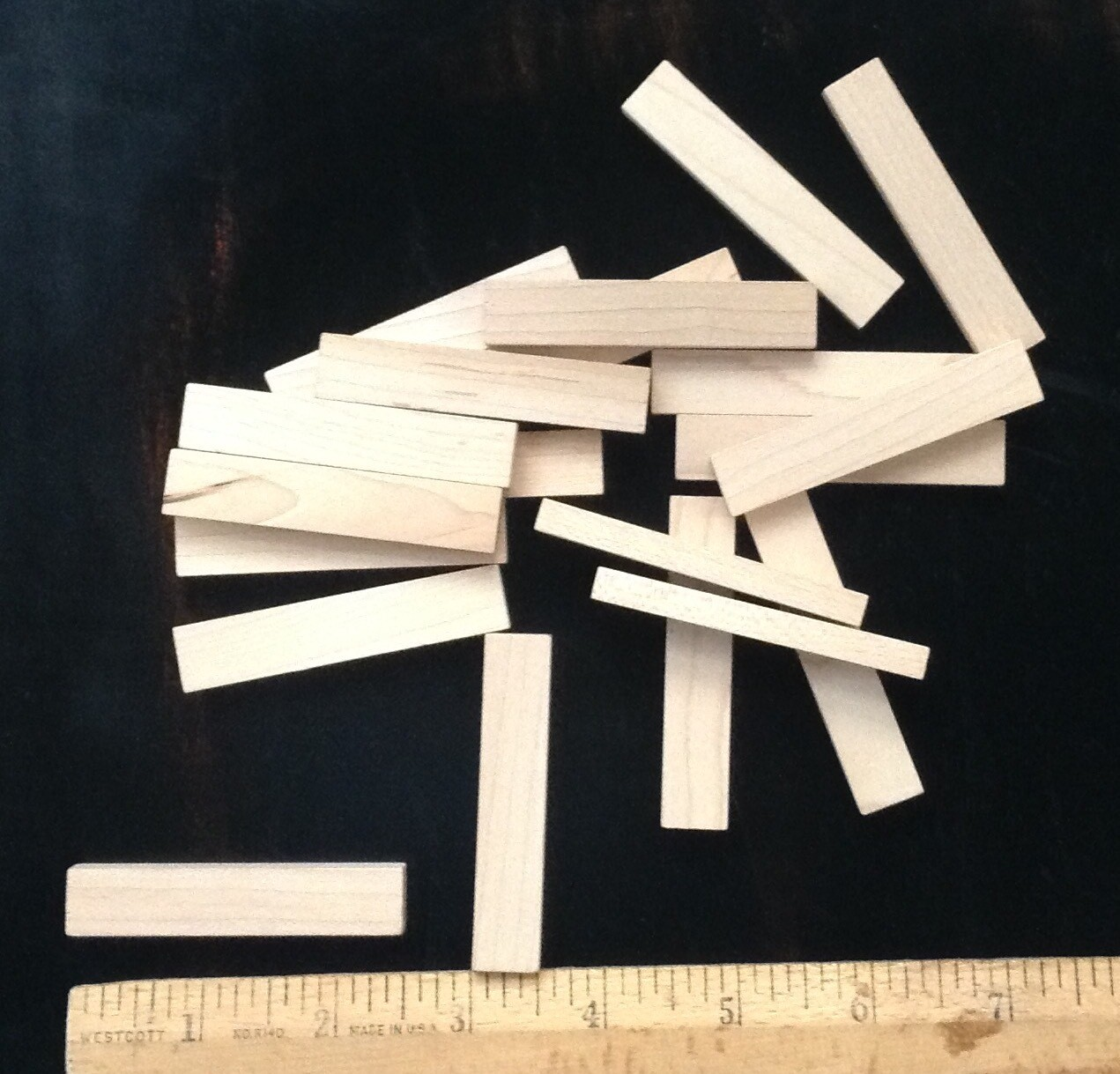Wood Pieces (20 pieces per pack)