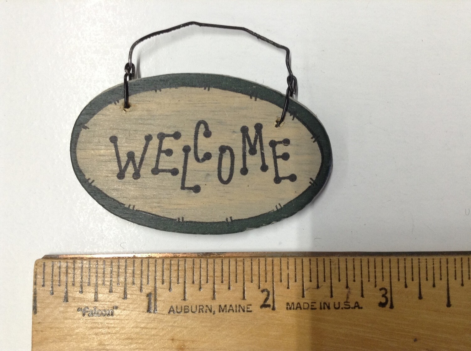 Miniature Welcome Sign