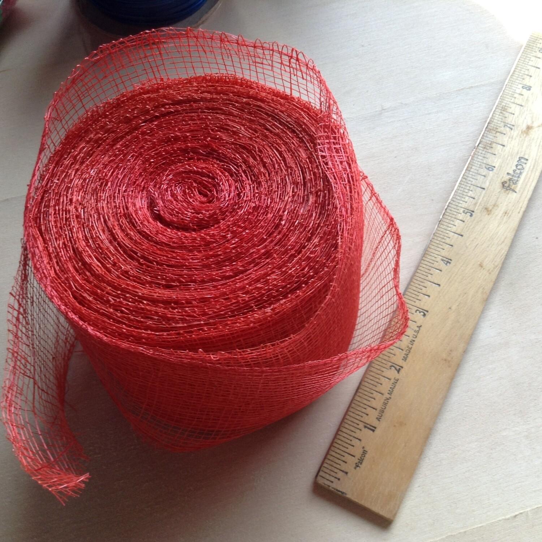 Mesh Ribbon / Red