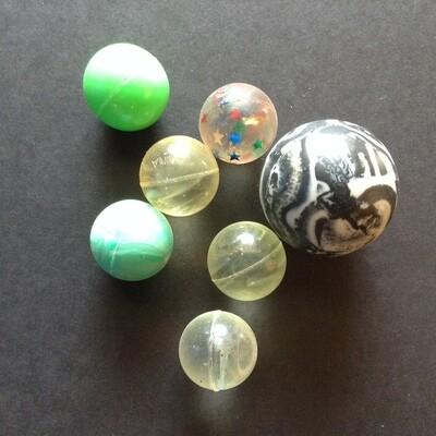 Bouncy Balls / Set of 7 (B)