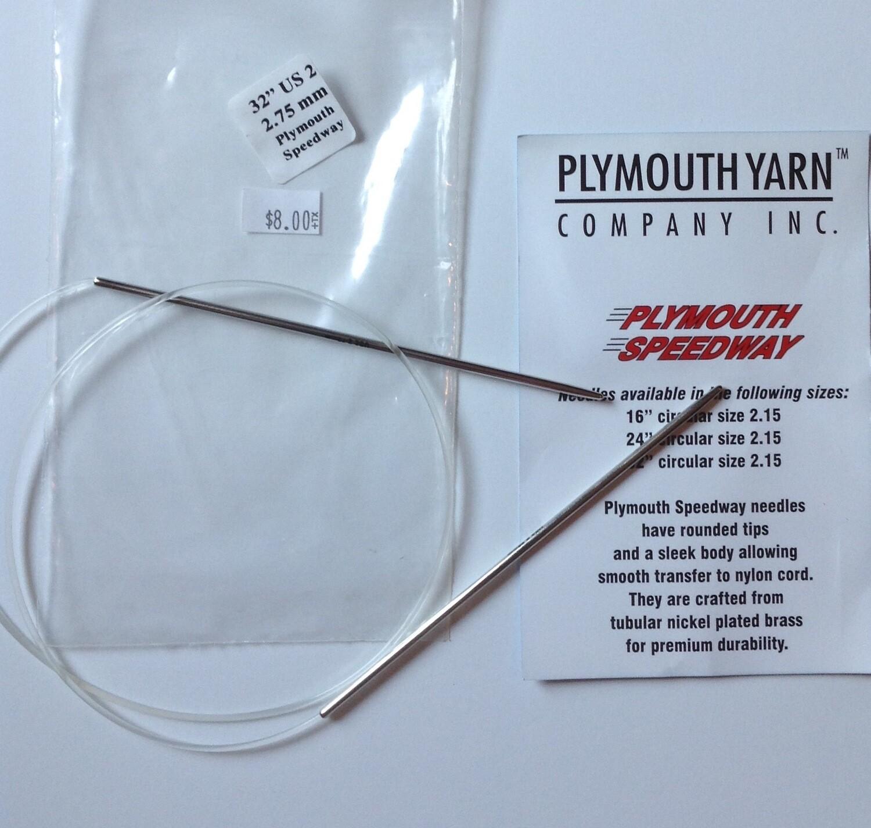 "Knitting Needles: Plymouth Yarn Co. (32"" 2.75 mm)"