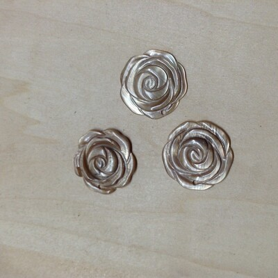 Pendant Pieces(#6): Made of Shell / Set of 3