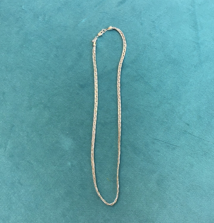 Monet Silver Necklace